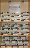 Vibroplex Display Shelves